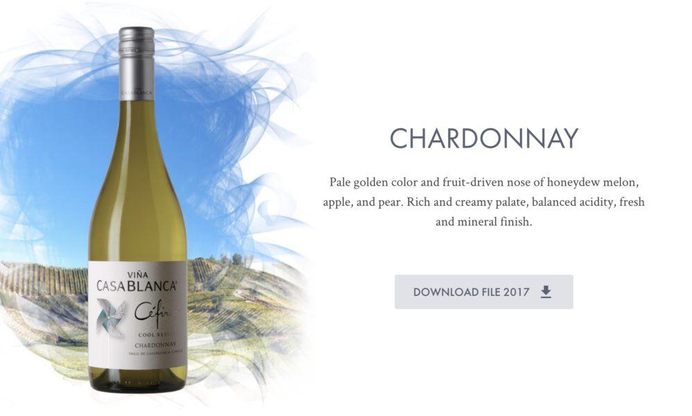 casablanca chardonnay
