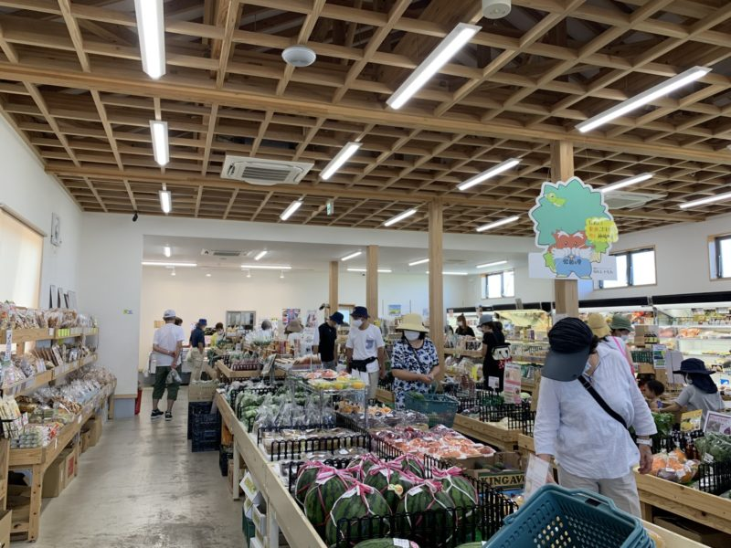 発酵の里こうざき 新鮮市場 店内